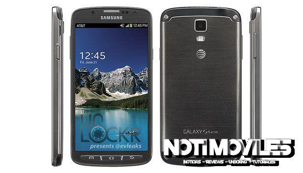 Filtrado el Samsung Galaxy S4 Active de AT&T