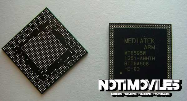MediaTek MT6595 procesador Octa core con LTE integrado