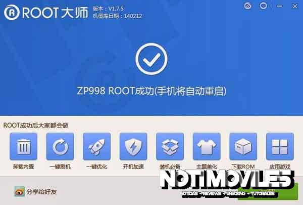Root Smartphone chino