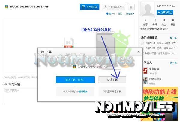 """Zopo ZP998 Actualización Android 4.4Kitkat """"Descargar"""""""