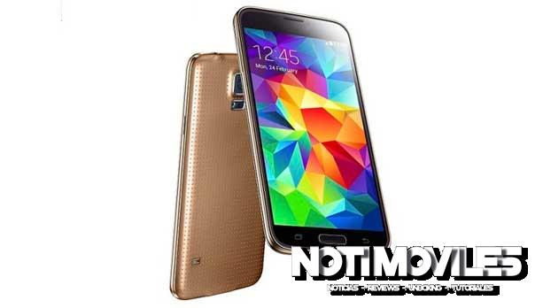 HDC Galaxy S5 SM G900F Golden (ROM)