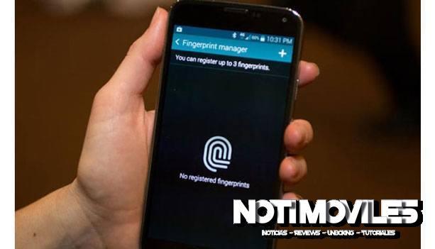 HDC Galaxy S5 Spark Clon S5 Con Fingerprint Scanner Real