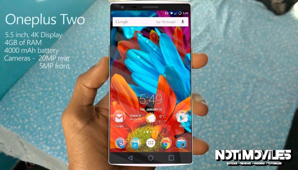 El OnePlus 2 SD 810 v2.1 1