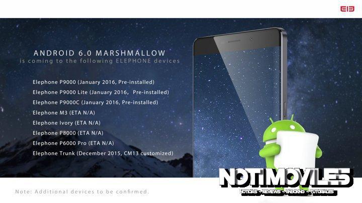 Android Melcocha elephone